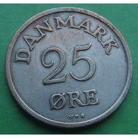 Дания. 25 эре 1952. Много лотов в продаже.