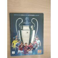 Альбом PANINI.Лига чемпионов.Сезон 2011-2002.