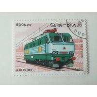 Гвинея Бисау 1989. Поезда