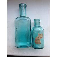 2 аптечные бутылочки