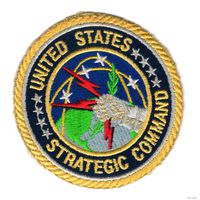 "Нашивка ""United States - Strategic Command"" США"
