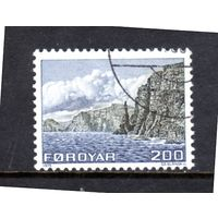Фарерские острова.Ми-15.Остров Sandoy Westcoast. Серия: Карты и пейзажи.1975.