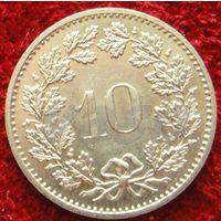 7851:  10 раппенов 1983 Швейцария