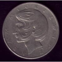 10 Злотых 1976 год Польша Мицкевич