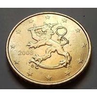 50 евроцентов, Финляндия 2008, 2009 г.