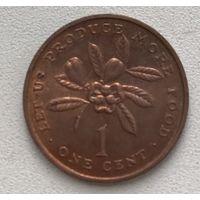 Ямайка 1 цент 1971 г.