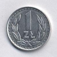 Польша, 1 злотый 1982 г.
