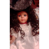Немецкая куколка Sonneberg  рост 60 тело прессопилки