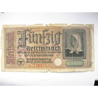 Немецкие оккупационные 50 марок.