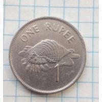 Сейшелы 1 рупия 1992г.