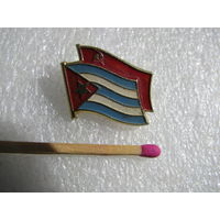 Знак. Флаги Куба - СССР