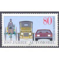 Германия 1986 автомобиль техника