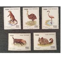 1973 г. Перу. фауна. *