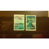 Самолеты, авиация, транспорт, техника, воздушный флот, марки, Австралийские антарктические территории, 1973