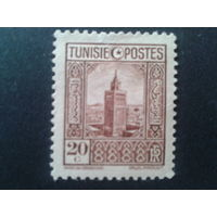 Тунис 1926 колония Франции стандарт