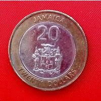 29-28 Ямайка, 20 долларов 2006 г.