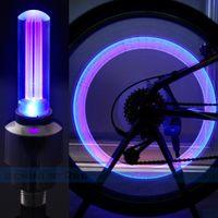 Светодиодный светящийся колпачок на нипель (ниппель) универсальные R-93 для велосипеда, авто, мото, новые в наличии
