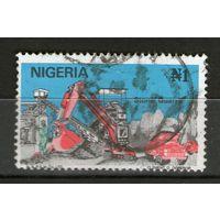 Нигерия. Гашеная. Лот-21