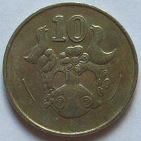 Кипр, 10 центов 1994 г