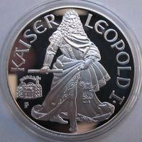 Австрия, 100 шиллингов, 1993, серебро, пруф