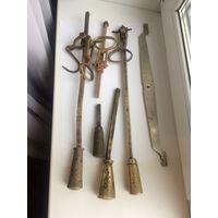 Часть, деталь, Весы старинные Безмен 19-20 вв в реставрацию Латунь/бронза