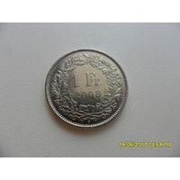 1 франк Швейцария 2008 год, KM# 24a.3, FRANC - из коллекции
