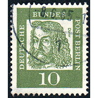 115: Германия (Западный Берлин), почтовая марка, 1961 год