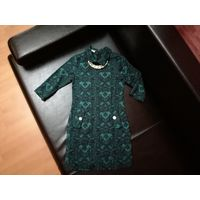Эффектное изумрудное платье TuTachi (Тутачи) - модель Amber