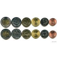 Албания Набор монет монет 6 шт UNC