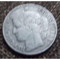 Франция. 50 центов 1888