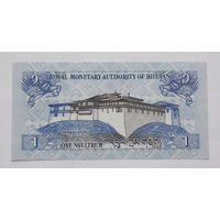Бутан 1 нгултрум