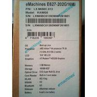 Ноутбук Aser Emachines E627 ( на запчасти)