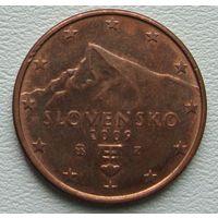 Словакия 5 евроцента 2009