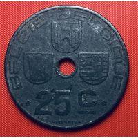 25-25 Бельгия, 25 сантимов 1944 г. (Фламандский тип)
