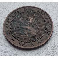 Нидерланды 1 цент, 1882 8-9-5