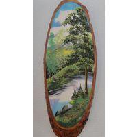 Картина из каменной крошки Пейзаж