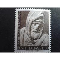 Италия 1964 скульптура Микельанджело