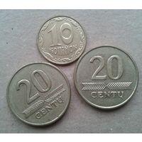 3 монеты  наших соседей