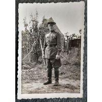 Фото военного-орденоносца. 6х9 см.