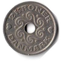 Дания. 2 кроны. 2000 г.