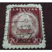 Латвия, Латвийская СССР, первые марки, война, распродажа