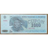 1000 купонов 1993 года - Приднестровье - aUNC -UNC