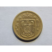 Румыния 5 лей 1930г