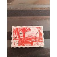 1947 французская колония Марокко флора архитектура (2-13)