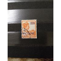 1921 Голландская колония Ост-Индия королева (4-7)