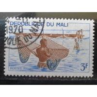 Мали 1966 Рыбная ловля