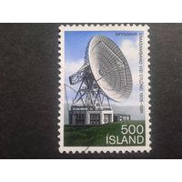 Исландия 1981 спутниковая антенна