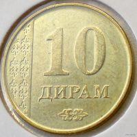 Таджикистан, 10 дирам 2011 года
