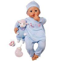 Кукла мальчик Беби Аннабель с мимикой,с музыкальной овечкой,Zapf Creation,оригинал.