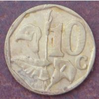 5378:  10 центов 1997 ЮАР